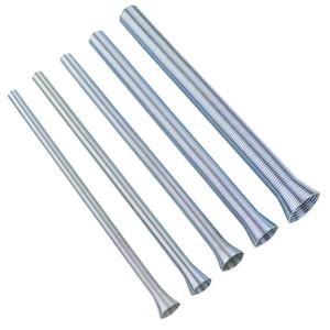프로모션! 5PCS 봄 튜브 벤더 210mm 인장 스프링 파이프 벤더 1 / 4 인치-5 / 8 인치 스틸 구리 알루미늄 튜브 BENDI