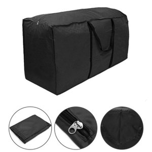 1pcs Large Capacity Outdoor Garden Furniture Storage Bag Cushions Seat Protective Cover Waterproof Multi-Function Storage Bags