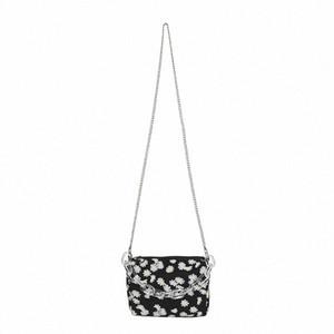 Fashion Daisy Printed Shoulder Bag 2020 Summer New Womens Chain Crossbody Bag Bolsa Feminina Mini Handbag fwvp#