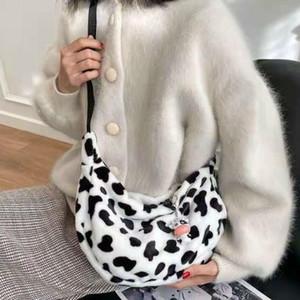 Borse di gnocchi del modello della mucca della moda delle donne Borse a tracolla di alta qualità Borse a tracolla femminile Casual convenient borse sac un principale femme