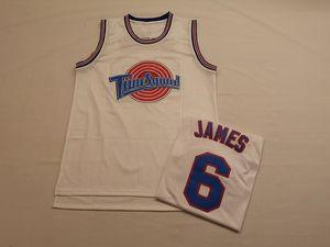James jersey Space Jam Tune Squad 23 LeBron Basketball Jerseys Men