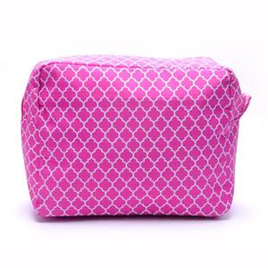Grande Quaterfoil Cosmetic Bag Quatrefoil modello sacchetto di trucco In Multicolor DOM109123