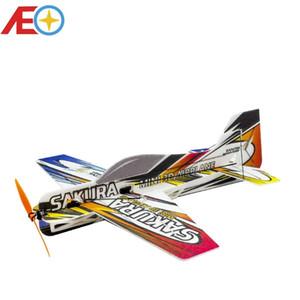 Neue EPP Foam Micro 3D Indoor Airplane Sakura leichteste Flugzeug Kit (nicht zusammenbett) RC Airplane RC Modell Hobbyspielzeug Heißer Verkauf RC Flugzeug 201103