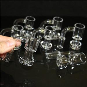Quartz Terp Vacuum Banger Domeless Terp Slurper Up Oil Banger Nail with 25mm Bucket 30mm Bottom for Glass Bong Oil Rigs Compare wit