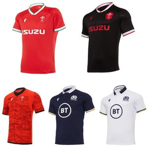 2020 2021 Galler İskoçya rugby forması 20 21 ev uzakta Galli Boyut S-5XL İskoç Gömlek Maillot Camiseta Maglia