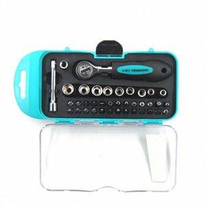 8160 Ratchet chave de fenda Multi-Purpose 38pcs 8160 Set Ratchet chave de fenda Sleeve / T-Type Hex Wrench Tool Set FpF9 #