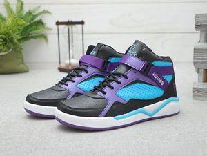 New Jumpman 1 Retro High OG Kids Basketball Shoes For Mens 1s purple Blue Black White orange Athletics Sneakers Designers Sports Shoes