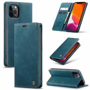 Für iphone 12 Pro Max Fall Luxuxgeschäfts-Leder-Kasten für iphone 12 Mini 12 Pro Back Cover-Telefon-Beutel