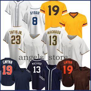 Manny 13 Machado Baseball Jersey Tony 19 Gwynn Fernando 23 Tatis Jr. Trevor 51 هوفمان إريك 30 Hosmer Wil 4 Meyers Manuel 7 Margot Renfroe