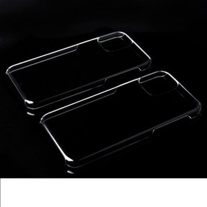 Ultra thin Crystal Clear Transparent PC Hard Case For iphone SE 2020 11 Pro Max X XR XS 8 7 6 6S Plus 5S SE Protective