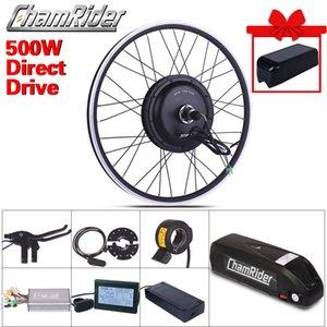 Vélo électrique Vélo électrique Kit de conversion XF39 XF40 moteur MXU Marque de 1-2 Batterie 500W 48V 13Ah 52V 17AH LCD LED de roue libre