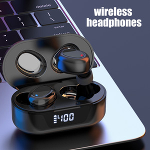 Nueva auriculares auriculares TWS TW16 Bluetooth 5.0 para auriculares Wireless Display Digital Sport Headset Bluetooth portátil Auricular