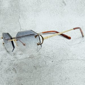 قطع النظارات الشمسية الاسم الأحرفية النظارات الرجال مناسبة the sun engraving خمر gafas كارتر الأزياء والماس مقارنة
