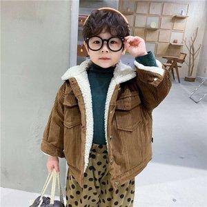 Moda Wtern SL Kış Yeni Kadife Erkek Çocuk Kuzu Yün ET Çocuk Giyim