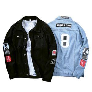 Coat Trendy Brand New Denim Jackets Men Top Quality Fashion Mens Jean Bomber Jacket Cotton Outwear Male Cowboy Hiphop