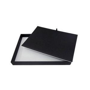 High Quality Jewelry Display Counter Pad Black & White Pu Double Side Used Jewelry Bangel Necklace Watch Organizer Storage Tray I7D9X