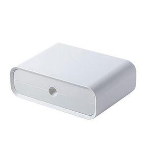 Notebook economia di spazio con cassetto da scrivania Monitor Holder ABS Design ergonomico PC Laptop Computer Office Riser stand