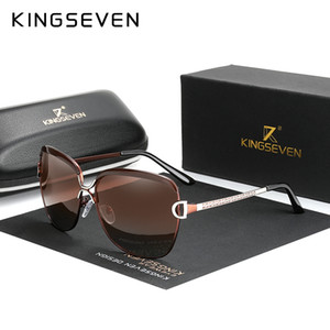 KINGSEVEN Fashion new arrival Women Popular Brand Design Polarized Sunglasses Summer Sun Glasses With Original