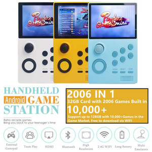 New Handheld Android Retro Arcade Game Console Pandora's Box Mini 2006 Multi Games IN 1 Portable Arcade 10000+ Games Market