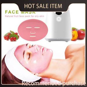 Vegetal Fa Cuidado Con la máquina automática fabricante de la máscara de DIY Natural Facial Mask FM001 píldora Inglés colágeno de la piel de la fruta Voi Máscara vegetal Troo