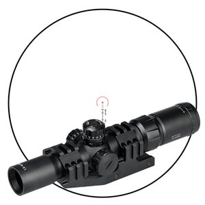 PPT 1.5-4X30 Rifle Scope Red Green Blue Illuminated for Hunting Outdoor Shooting Free Shipping CL1-0246B