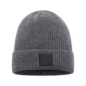 Wool Mens Beanie Inverno Hat New Fashion Womens malha Thicken Quente Polo Cap Bonnet Beanie