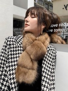 Sable Collar mink series women's scarf Winter new style fashion fur scarf Size:82*12cm