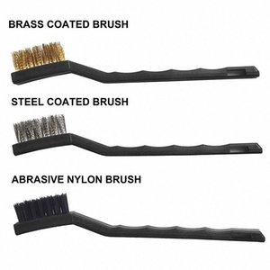 Hot 11pcs Car Detailing Brosse Kit cheveux doux Auto Intérieur Volant outil de nettoyage BX * vq0h #