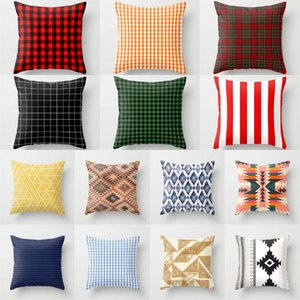 NEW Plaids Cushion Cover Super Soft Polyester Throw Pillow Covers Decorative Sofa Pillows Hot Nordic Fashion Scottish Pillowcase