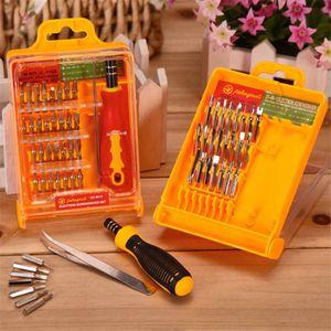 32 in 1 Präzisions-Schraubendreher-Set Magnetic Torx Bits Schraubendreher für elektronische Tournevis Repair Tools Kit