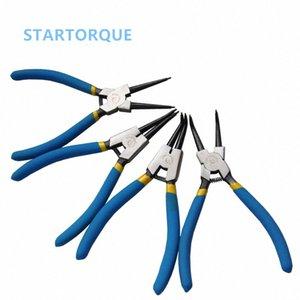 """7"""" 175mm multifunzionale Anello elastico pinze Multi Tools Multi Crimp strumento esterno interno Anello di rimozione anello di sicurezza Pinze K3iE #"""