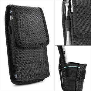 2019 Men Phone Pouch Classic Black Mens Belt Bag Hanging Waist Storage Bag Belt Clip Pouch Case For Iphone Fanny Pack New