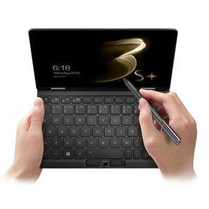 كمبيوتر محمول مؤسسة 8.4 بوصة الخلفية لوحة المفاتيح اللوحي mix3s + ips الشاشة inte الأساسية i3 10110y 10th 8 جرام 256 جرام دعم بصمة الكمبيوتر المحمول 360 Yoga1