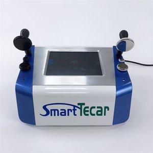 Yeni Gelenler 2 1 CET RET Fizyoterapi Monopolar RF Ekipmanları Akıllı Tecar Sırt Ağrısı Rölyef RF Yüz Kaldırma Makinesi