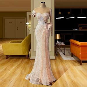 Newest Evening Dresses Long Sequins Women Prom Wear Sexy Formal Gowns Party Dress Robe De Soiree