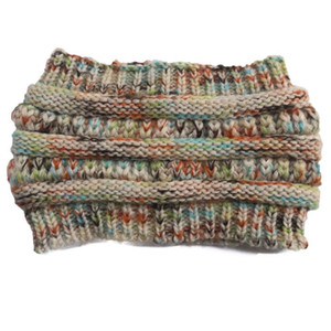 Knitted Crochet headband autumn winter new women Sports Head wrap Hairband Fascinator Hat Head Dress Headpieces OWC2950