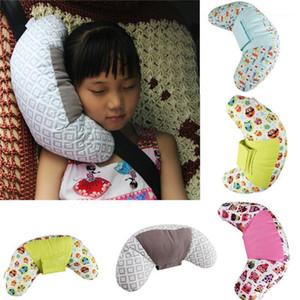 Children's Car Seat Neck Belt Pillow Shoulder Strap Safety Pad Head Soft Support1