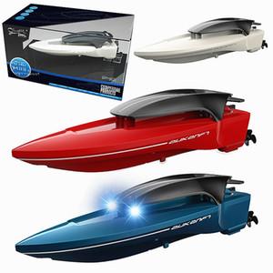 L'alta qualità 2.4G RC barche ad alta velocità a distanza Submarine Controllo Electric Boat remi Modello Barca estate giocattoli per i bambini