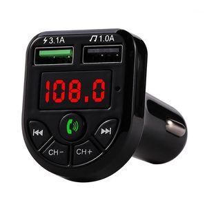 Fit Car Auto Bluetooth Transmitter Modulator 5.0 FM Handsfree MP3 Player Dual USB Phone Charger Wireless Audio Music Player1
