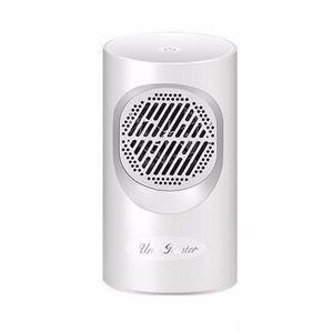 Máquina de ventilador de calentadores eléctricos para el mini calentador portátil de invierno Ventilador oscilante con ventilador de sobrecalentamiento con punta de sobrecarga1