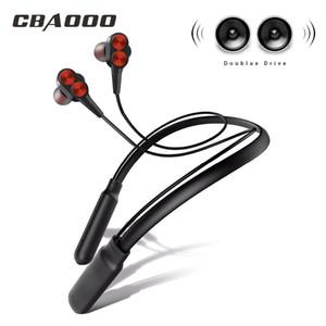 CBAOOOO B800 블루투스 이어폰 무선 헤드폰 스포츠 스테레오 블루투스 이어폰 Auriculars 마이크와 전화 201119 들어