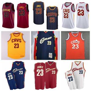ErkekClevelandCavaliersLebron James Basketbol Jersey; Swingmen Basketbol Formaları