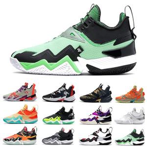 رخيصة الغضب الأخضر Westbrook 3.0 رجل كرة السلة أحذية المانجو واحد تأخذ الأسود النيون لماذا لا zer0.3 الرجال المدربين الرياضة أحذية رياضية 40-46