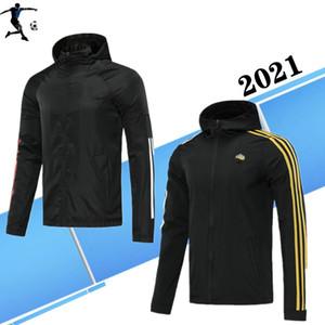 2021 футбольный клуб Paris MBAPPE Sarabia Спорт пальто Internacional костюм футбол Джерси Windcoat 20 21 Спорт куртки футбол футбол куртки