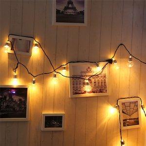 6m 20 LED Ball Garland String Fairy Lights Party Decorazione della casa Decorazione della casa Lampadina Lampadina per feste Lampade da giardino Giardino Garland 5pcs T1I3401