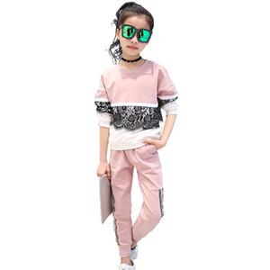 Abesay Sport Costume pour les filles Vêtements pour petite filles Automne Vêtements bébé fille printemps Jeunes filles Vêtements 8 11 13 ans X0923