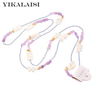 gioielli YIKALAISI Pearl per le donne naturale d'acqua dolce perla barocca ingrosso nuova moda gioielli a mano puro di tessitura