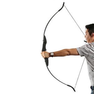 양궁을 찍은 양궁 활 양궁 활에 대 한 슈팅 게임 야외 스포츠 오른쪽 핸들 핸드 활