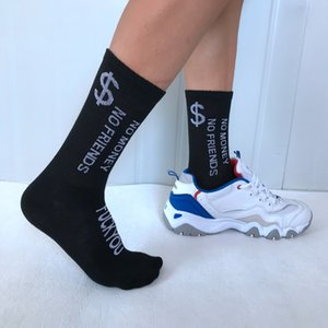 Nuovi calzini di design di alta qualità Socks Mens Womens Sport Sports Socks Outdoor Breve Tube Sock Calzini in esecuzione Moda Lettere di cotone Calza