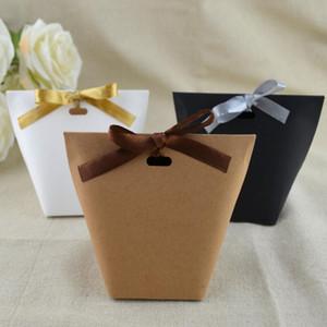 DIY Blank Kraft Papiertüte CBAG Hochzeit Box Schokoladen-Carton-Geburtstags-Party Retro Kraft Paper Bag FWB1426